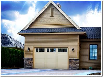 Bifold Liftstrap door puts motorhome in family garage