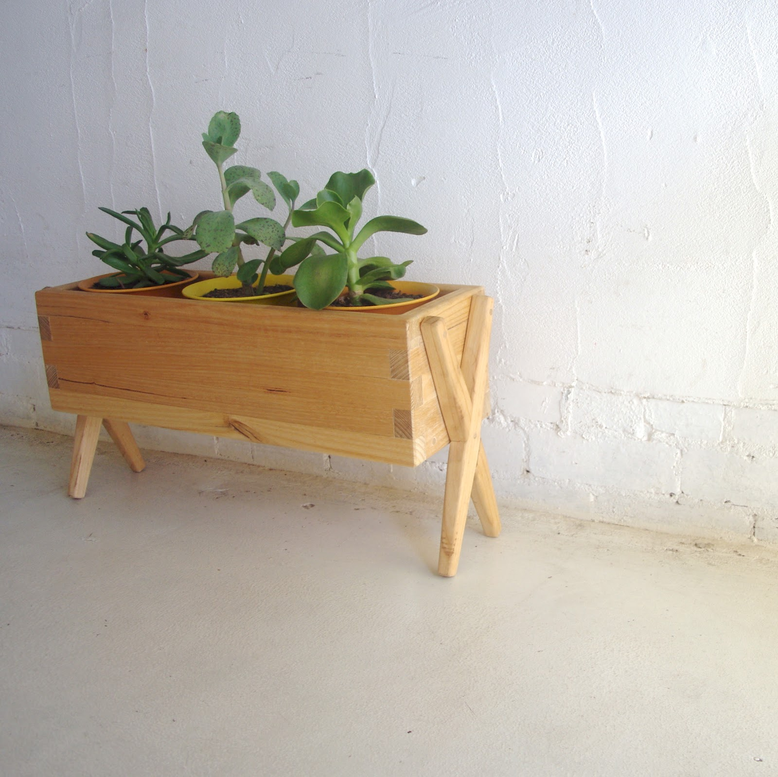 handmade unfinished boxes planter box wood x