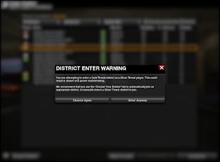 APB Reloaded - District Enter Warning