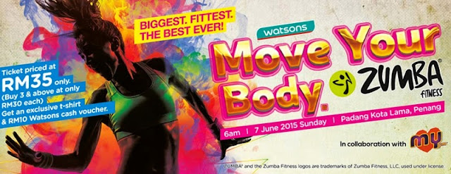 Watsons Move Your Body - ZUMBA!, Move Your Body, Zumba