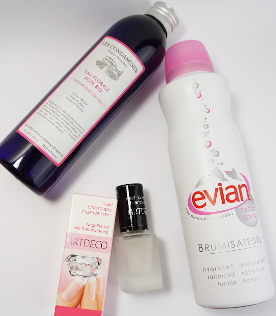 Aufgebrauchte Kosmetik Juli / August 2015 Artdeco, Evian