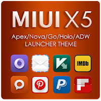 MIUI X5 HD Apex/Nova/ADW Them apk