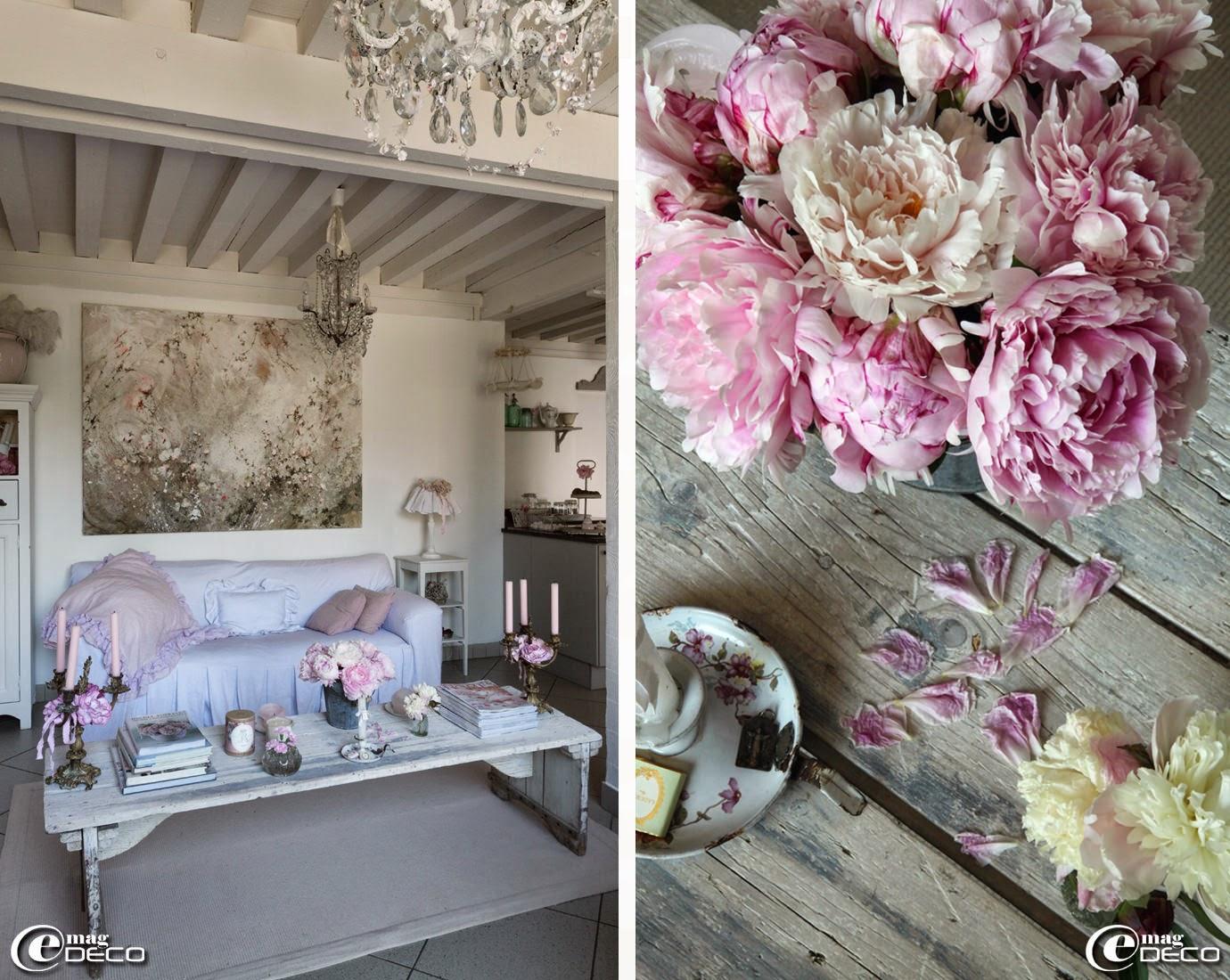 Une ancienne grange très shabby ~ e magdeco : magazine de décoration