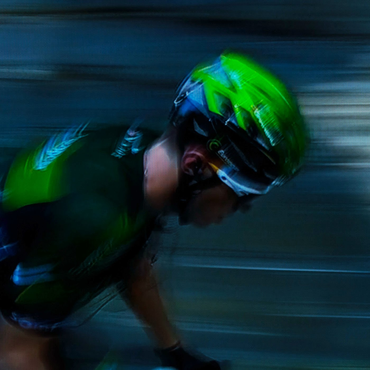 le tour, motion blur, blur, abstract, abstraction, tim macauley, photographic art, you won't see this at MoMA, appropriation, found imagery, le tour 2014, tv footage, portrait, team europcar