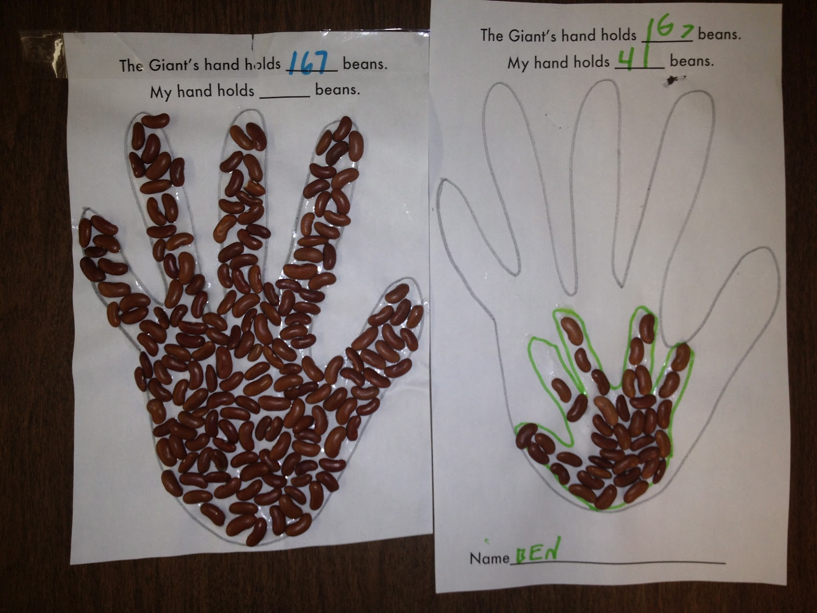 jack and the beanstalk pre k activities