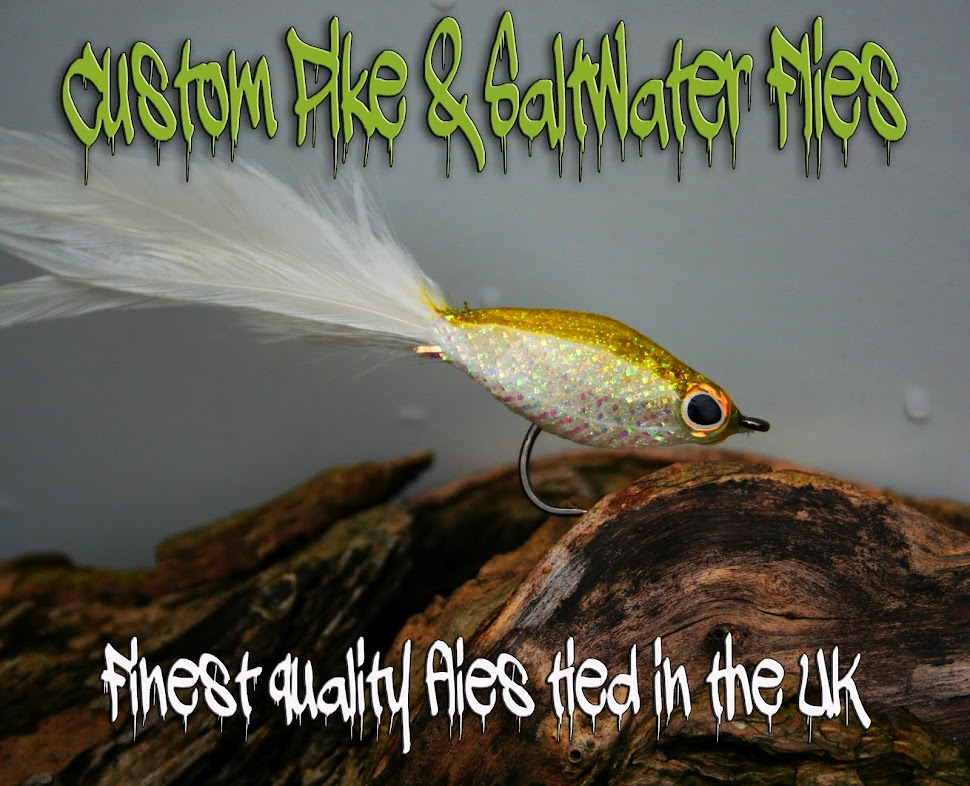 Custom Pike/Saltwater Fly tying