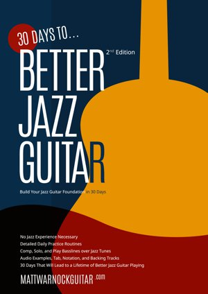 report guitar in jazz
