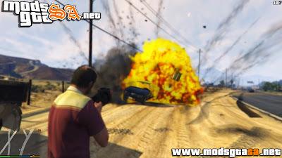 V - Explosões Aprimorados para GTA V PC