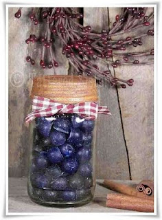 Primitive Canned Blueberries