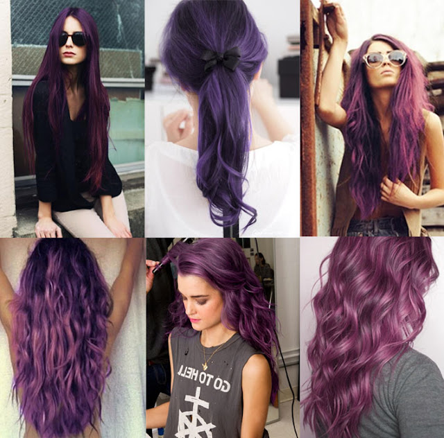 Different Purple Hair