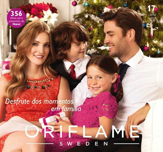 Catálogo 17 de 2013 da Oriflame - Natal em Família