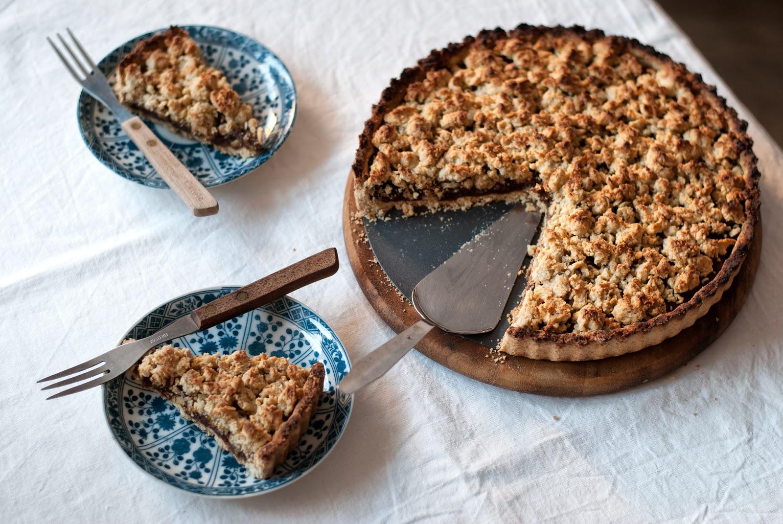 Daktylowe ciasto bezglutenowe bez cukru