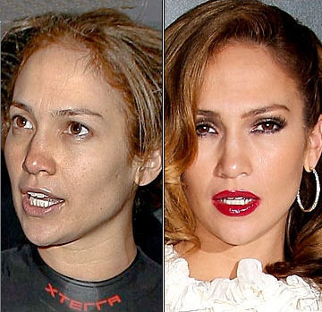 celebraties without makeup. celebrities without makeup on.