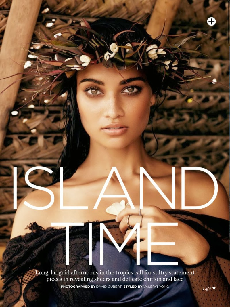 Magazine Photoshoot : Shanina Shaik Photoshot For Marie Claire Magazine Australia February 2014 Issue