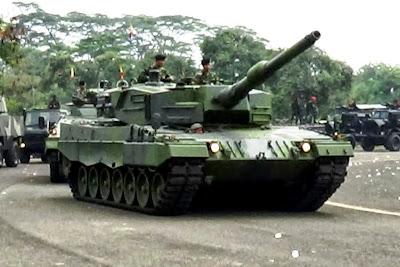 MBT Leopard TNI AD. Prokimal Online Kotabumi Lampung Utara