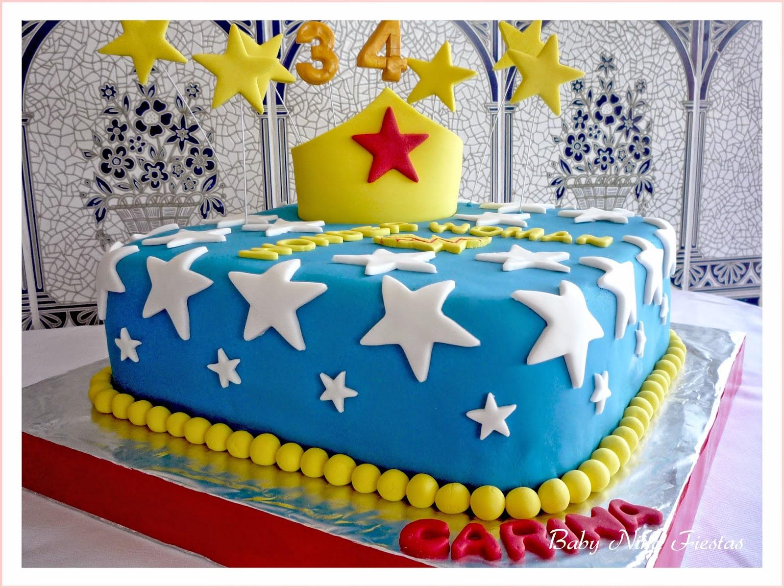 Baby nina fiestas tarta wonder woman para carina for Decoracion wonder woman