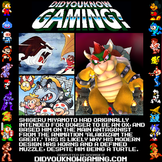 bowser fact Random Game Facts   Bowser Background