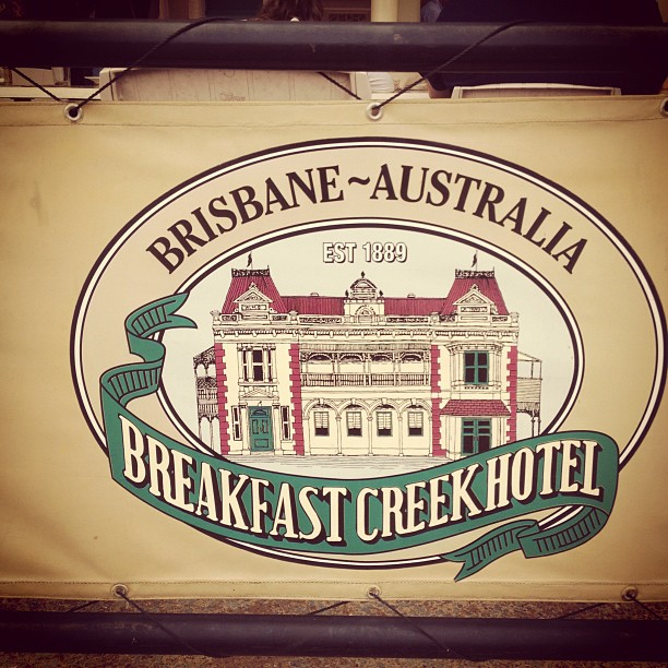 Say G'day Saturday, Tuesday Tune, Breakfast Creek Hotel, Natasha in Oz