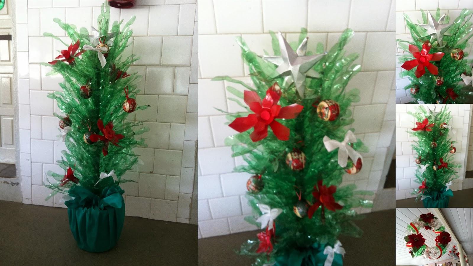 Professora Adriana Nicolodelli Decoraç u00e3o de Natal 2013 -> Decoração De Natal Simples Escola