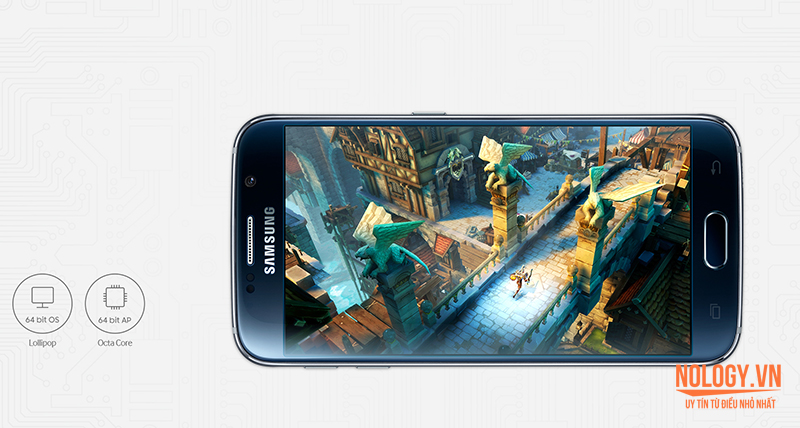 Hiệu năng của Samsung galaxy s6 2 sim