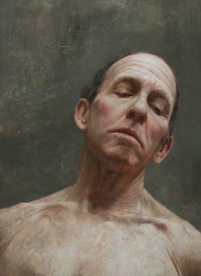 """Head Study Of Peter"""" 18 in. x 14 in. / oil on wood panel /"""