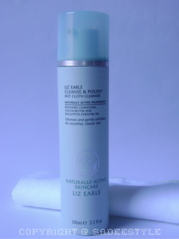 Liz Earle Cleanser and Polish Review