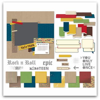 Stampin' Up! Seriously Teen Kit Digital Download