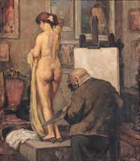 Viejo Maestro, pintura de Alberto Rossi
