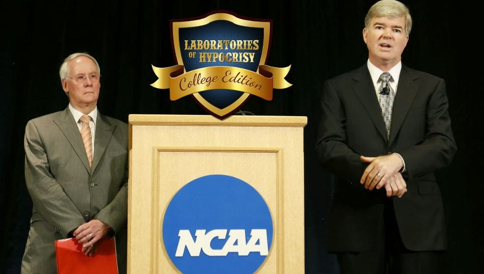 The NCAA's Theater of the Absurd