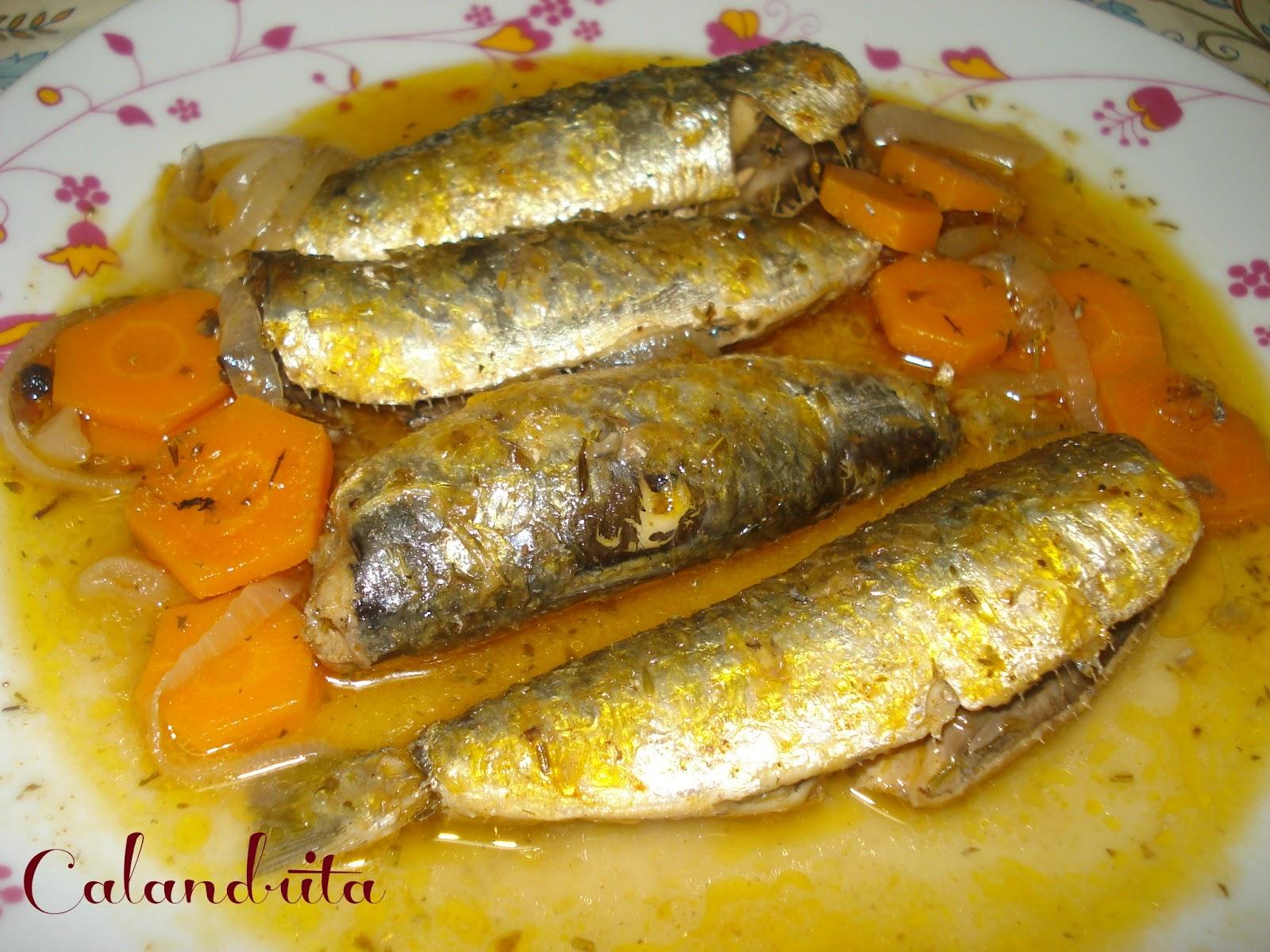 La cocina de calandrita sardinas en escabeche - Como cocinar sardinas ...