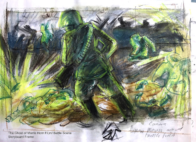 Battle Scene Storyboard Frame -The Ghost of Morris Horn/ Short Film