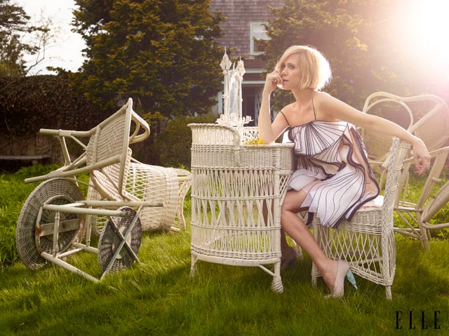 Kristen Wiig Elle style