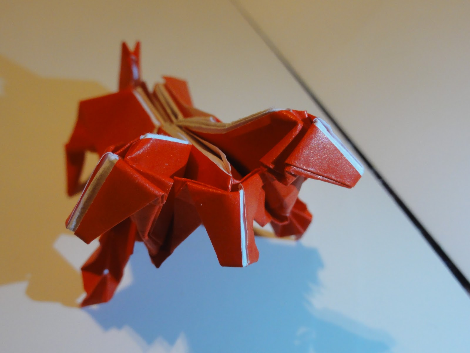 Ariake Aggie Origami A Day 6 Cerberus Advanced Fox Instructions Diagram Of The Squirrel Despite My Complaints I Still Like This Model Its Rare To Find Diagrams For Particular Creature And Not As Difficult Imagined It Would Be