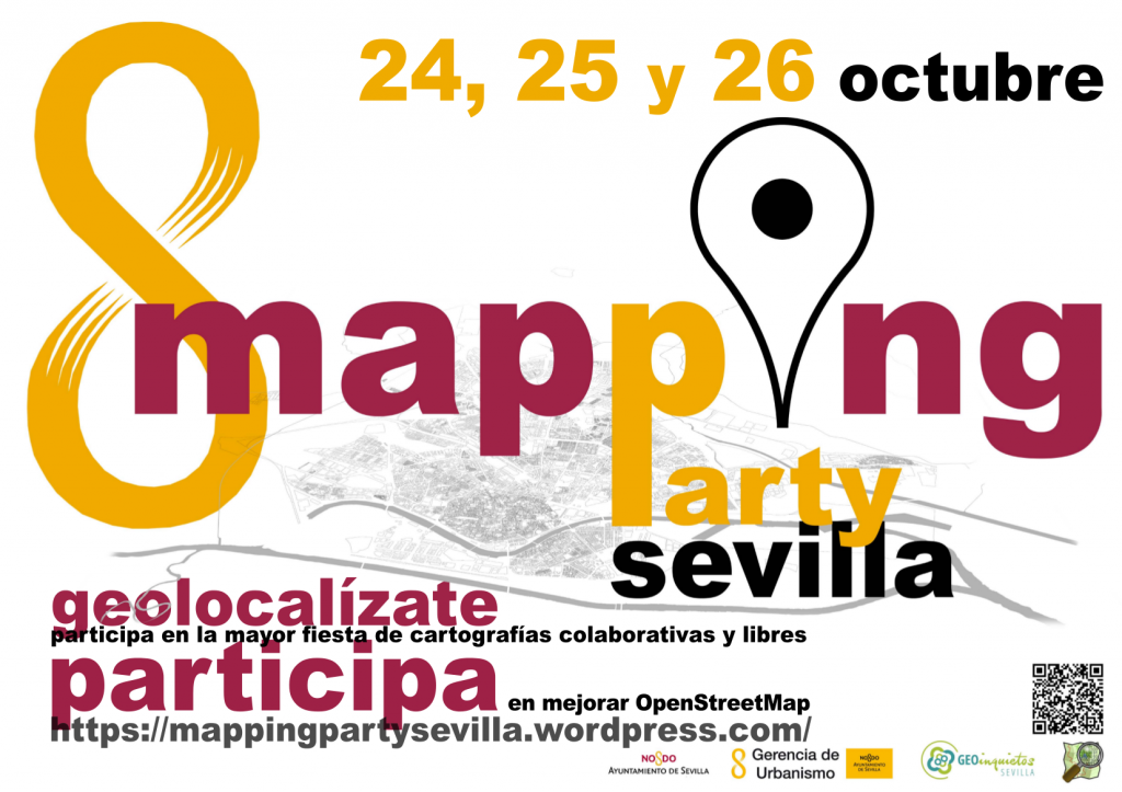 I Mapping Party Sevilla