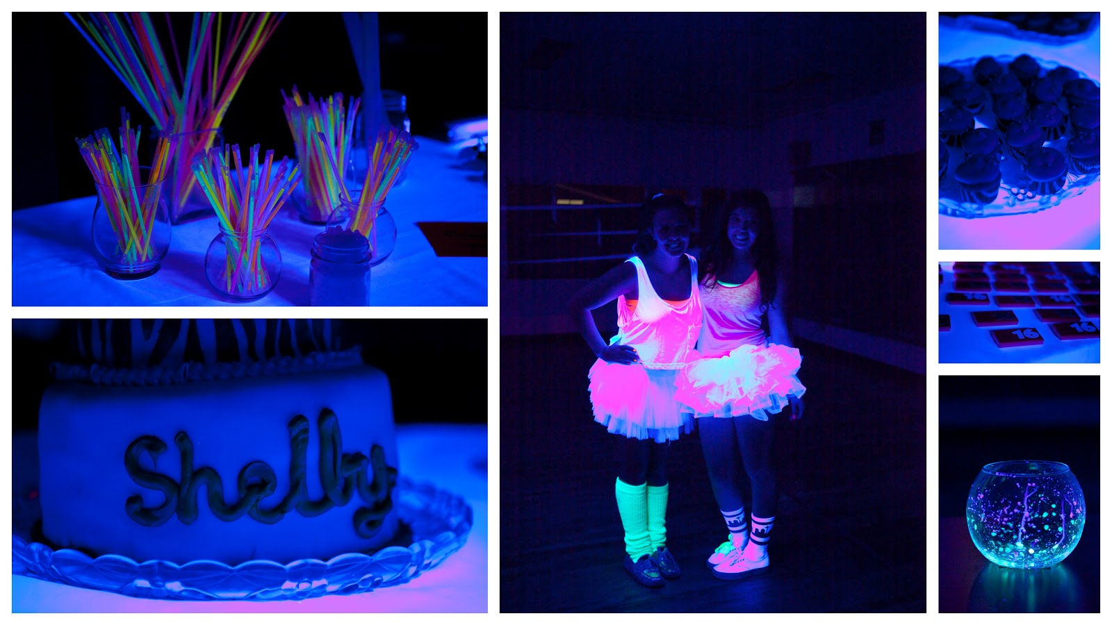 Birthday Party Sweet 16 Glow
