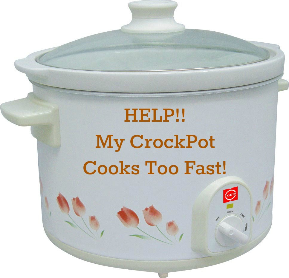 Help my slow cooker cooks too fast a year of slow cooking tips and tricks for working with a fast or hot cooking slow cooker fandeluxe Choice Image