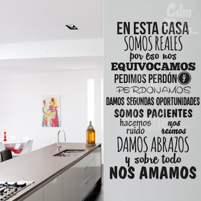 Vinilo decorativo pared frase do small things with great - Vinilos decorativos el corte ingles ...
