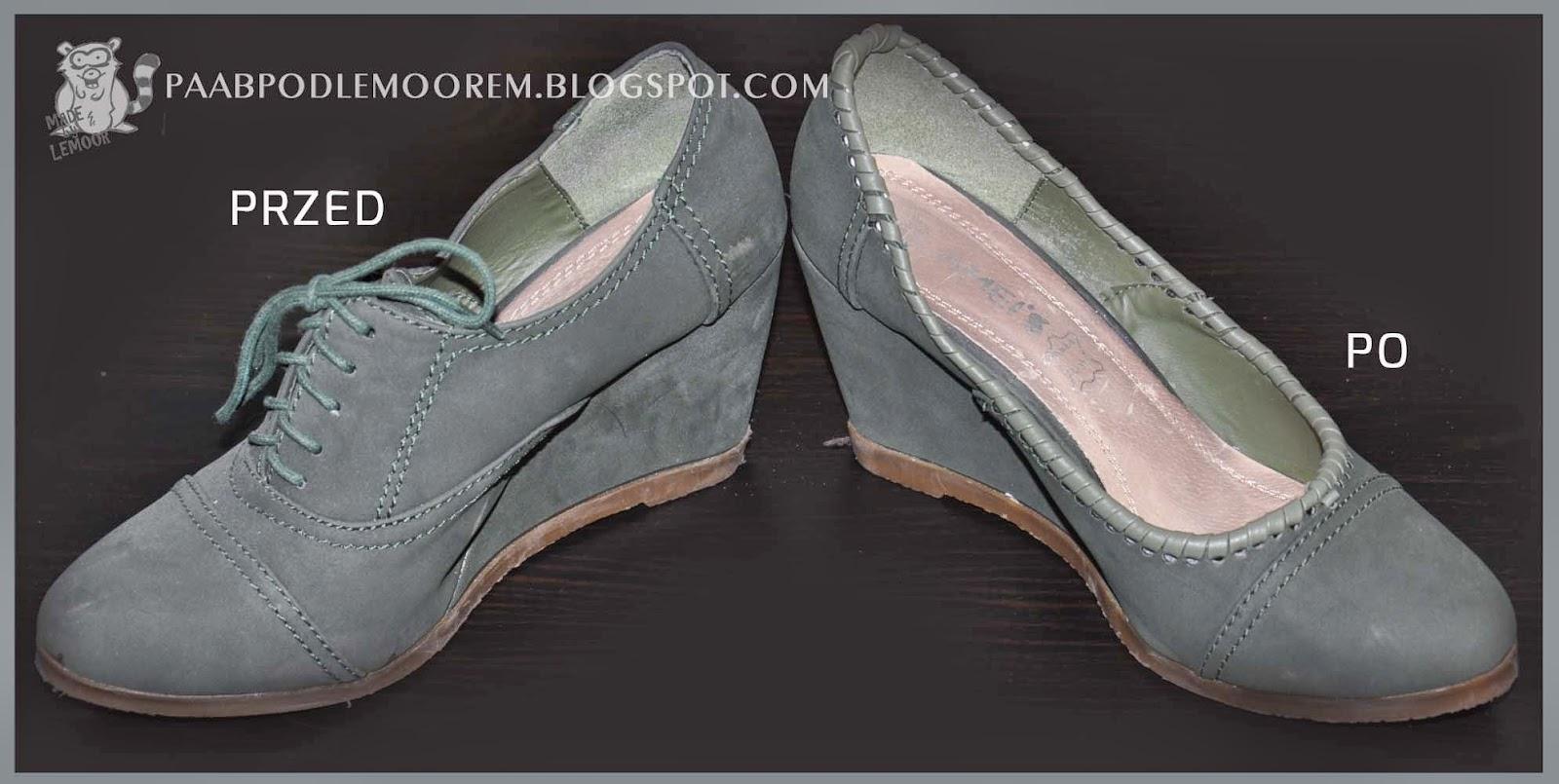 Siedmiomilowe (a przynajmniej do chodzenia) buty upcyklingowe