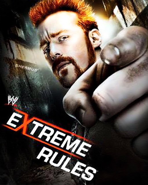 "Image » WWE Extreme Rules 2013 HQ Poster [feat: ""The Great White"" Sheamus] *EXCLUSIVE*"