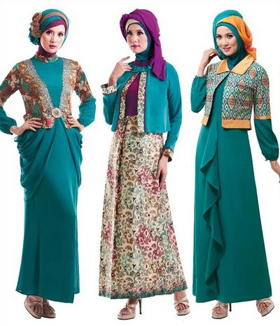 Foto Model Baju Muslim Gamis Modern