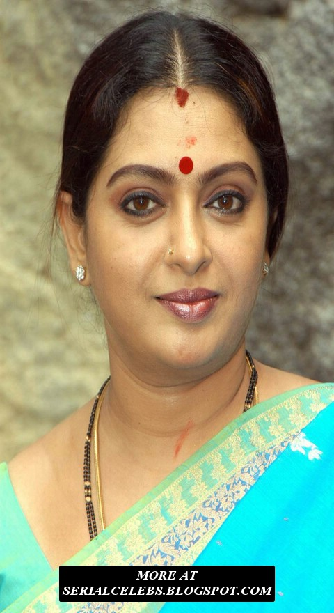 Serial Artists Tamil Aunty Actress Sita Parthiban Saree