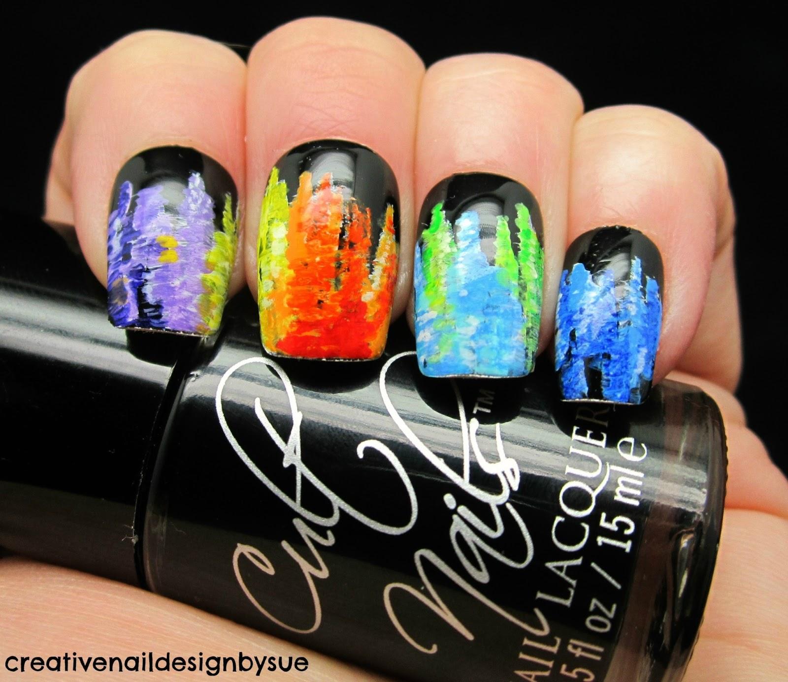Creative Nail Design By Sue Digit Al Dozen Does Art New York