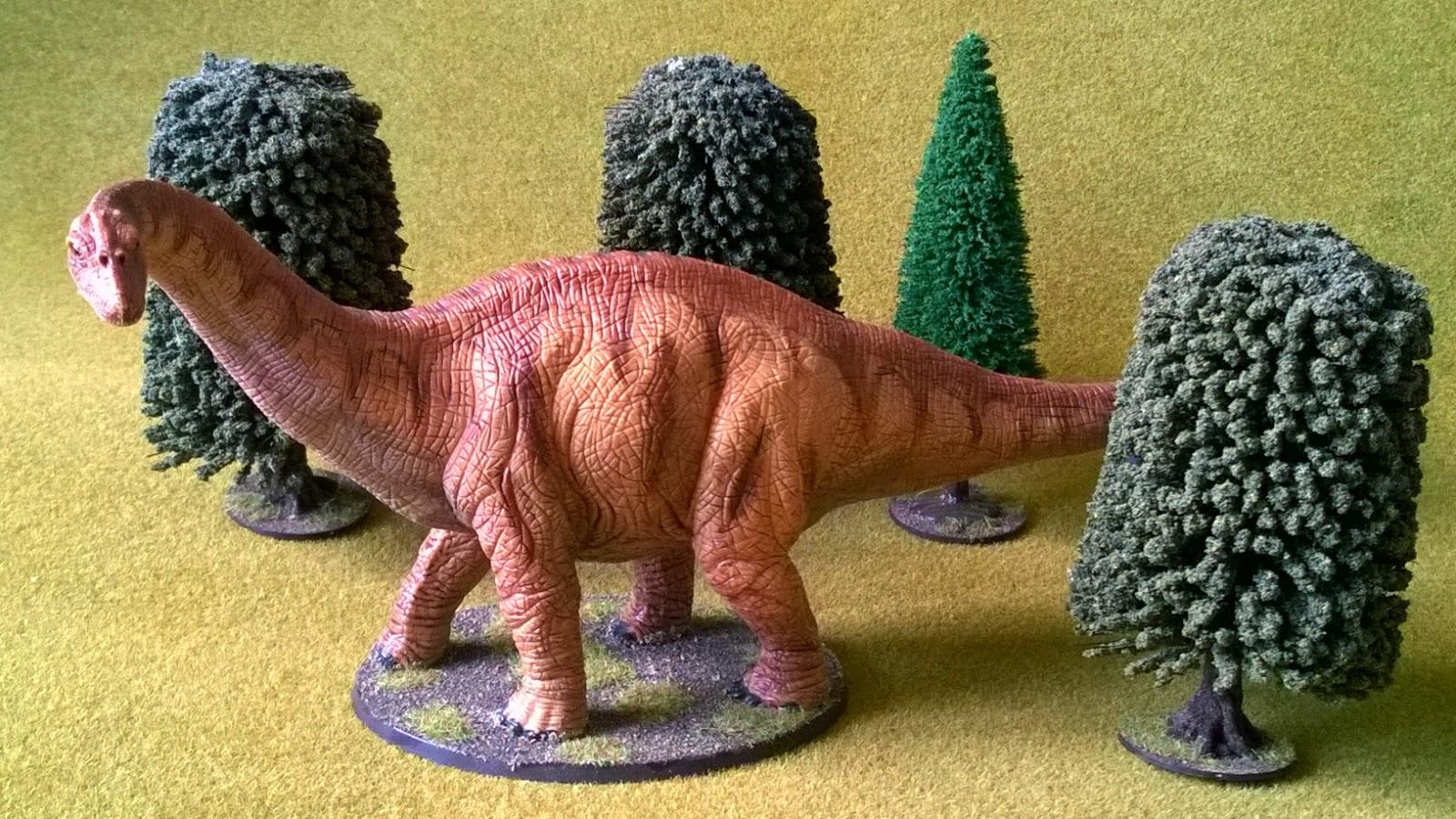 Apatosaurus Schleich dinosaur hunting 28mm dino
