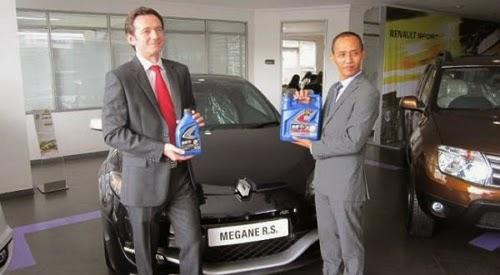 Oli Total dan Renault Lanjutkan Kolaborasi