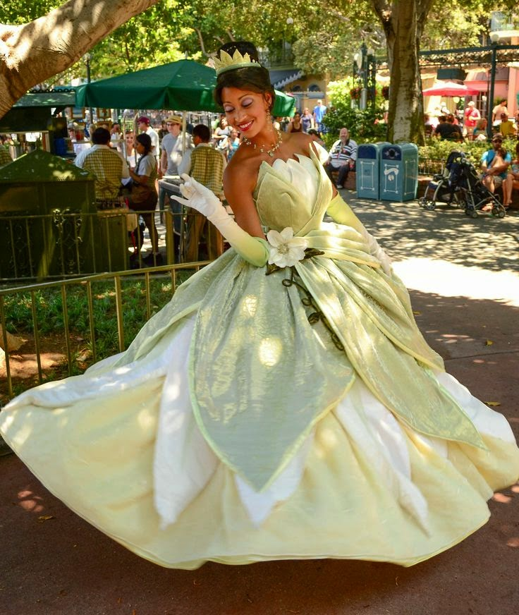 Princess Tiana Dress: Tiana Olivia Costuming: Costume Love