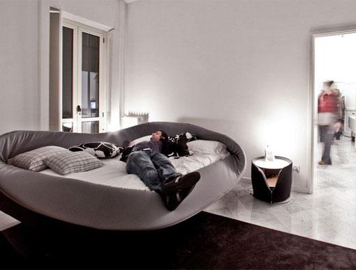 Dise o de camas con estilo para dormitorios modernos por - Camas de diseno italiano ...