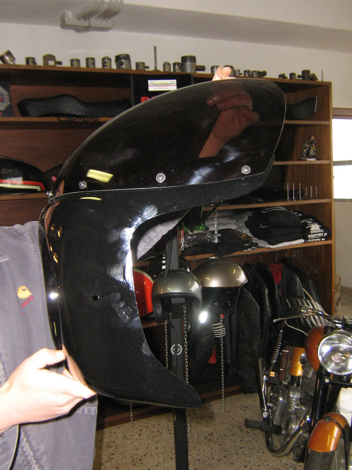 Ggarage Speed Shop Cupolino Cafe Racer Style