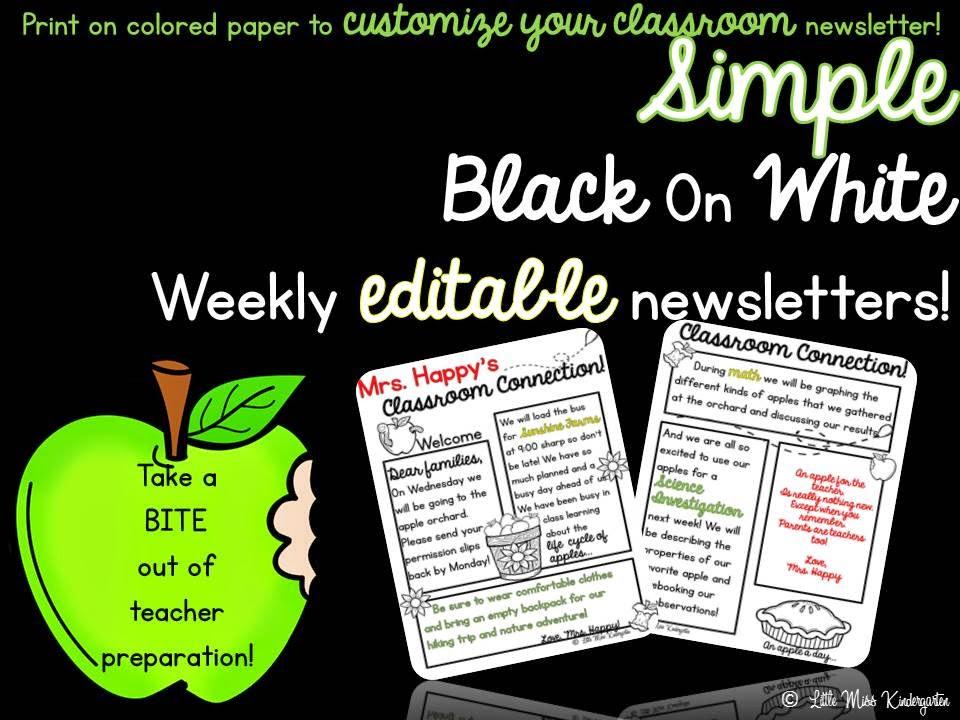 http://www.teacherspayteachers.com/Product/Editable-Weekly-Newsletter-TemplateEdit-Print-and-Go-1341008