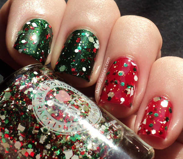 I Love Nail Polish Something About Merry