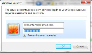 akun Google Sobat beserta passwordnya